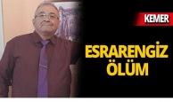 Kemer'de emekli albayın esrarengiz ölümü!