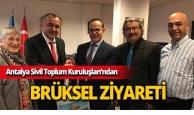 Antalya Sivil Toplum Kuruluşları Brüksel'de AB'nin misafiri oldu