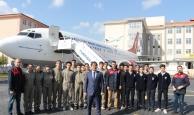 Geleceğin uçak mühendisleri bu okulda yetişiyor