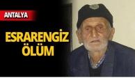 Alzheimer hastası adamın şüpheli ölümü!