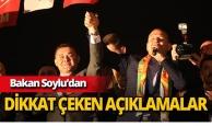 """Bakan Soylu: """"Türkiye üzerinde farklı hesaplar yapılıyor"""""""