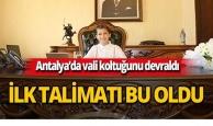 Antalya'da küçük valinin ilk talimatı bakın ne oldu!