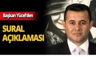 Başkan Yücel'den Josef Sural açıklaması!