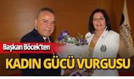 CHP İl Kadın Kolları, Başkan Böcek'i ziyaret etti