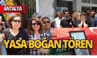Antalya Müzesi'nde gözyaşları sel oldu!
