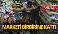 Turist girdiği markette terör estirdi!