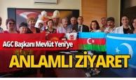 Türk Dünyası Dernekler Platformu'ndan AGC ziyareti