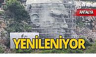 Antalya'nın simgesi yenileniyor!