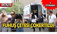 Kataloglu fuhuş operasyonu: 9 tutuklama!