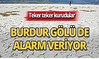 Burdur Gölü alarm veriyor!
