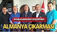 AGC heyetinden Başkonsolos Serdar Deniz'e ziyaret