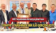 Antalya Gazeteciler Cemiyeti'nden Almanya ziyareti