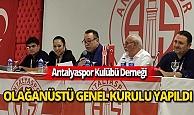Antalyaspor Kulübü DerneğiOlağanüstü Genel Kurulu yapıldı