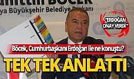 Böcek, Cumhurbaşkanı Erdoğan'dan onay aldı!