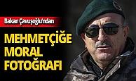 Bakan Mevlüt Çavuşoğlu'ndan mehmetçiğe moral fotoğrafı