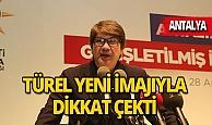 Eski Başkan Menderes Türel, yeni imajıyla dikkat çekti