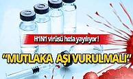 H1N1 virüsü hızla yayılıyor
