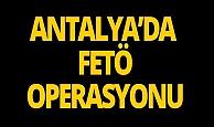 Antalya'da FETÖ'nün hücre evi deşifre edildi