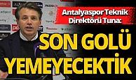 Antalyaspor Teknik Direktörü maçı değerlendirdi