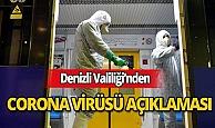 Denizli Valiliği'nden Corona virüsü açıklaması!