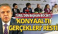 Menderes Türel'den,Başkan Böcek'e 'Konyaaltı gerçekleri' resti!