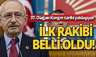 Son dakika: CHP'de Kılıçdaroğlu'nun ilk rakibi belli oldu!