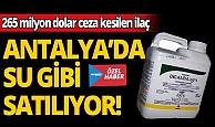 ABD'nin 265 milyon dolar ceza kestiği ilaç , Antalya'da su gibi satılıyor!