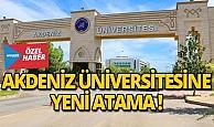 Akdeniz Üniversitesine genel sekreter ataması