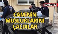 Antalya'da camiden musluk çalan hırsızlar yakalandı