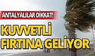 Antalya'da kış bastırıyor: Kuvvetli don olayı bekleniyor