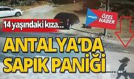 Antalya'da sapık paniği: İşte kameradaki o görüntüler