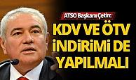 """ATSO Başkanı Çetin: """"Durgunluk krize dönüşebilir"""""""