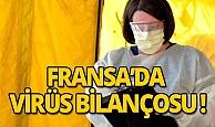 Fransa'da koronavirüs bilançosu: 450 ölü!