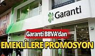 Garanti BBVA, emekli promosyonlarını yüzde 166 artırdı
