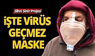 İşte virüs geçmez maske