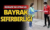 23 Nisan için Antalya'da bayrak seferberliği