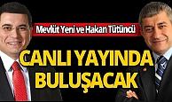Mevlüt Yeni ve  Antalya Kepez Belediye Başkanı Tütüncü corona virüsü ile mücadele için canlı yayında buluşuyor: