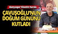 Alanyaspor'dan sürpriz kutlama