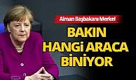 Alman Başbakanı Merkel'in makam aracı tercihi görenleri şaşırttı!