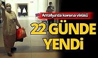 Antalya'da 50 yaşında virüsü yendi