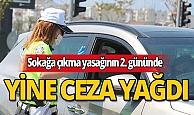 Antalya'da sokağa çıkma yasağını delen vatandaşlara ceza yağdı