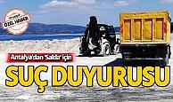 """Antalya'dan """"Salda"""" için suç duyurusu"""