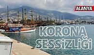 Antalya sahillerinde korona sessizliği