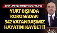 Bakan Mevlüt Çavuşoğlu'ndan son dakika açıklaması