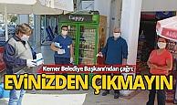 Başkan Necati Topaloğlu vatandaşları uyardı...