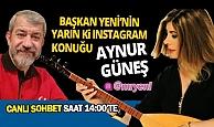 Aynur GÜNEŞ ile instagram canlı yayında türkü ziyafeti...