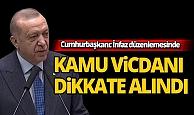 Cumhurbaşkanı Erdoğan: İnfaz düzenlemesi hassasiyetler dikkate alınarak hazırlandı