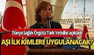 DSÖ Türk Yetkilisi Dr. Nedret Emiroğlu aşının bulunması halinde ilk kimlere uygulanacağını açıkladı