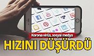 Korona, sosyal medya erişim hızını da düşürdü