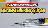 Oxford Üniversitesi, insanlar üzerinde Kovid-19 aşısı denemelerine başladı